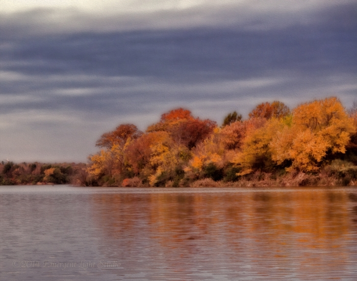 Autumn on a Prairie River
