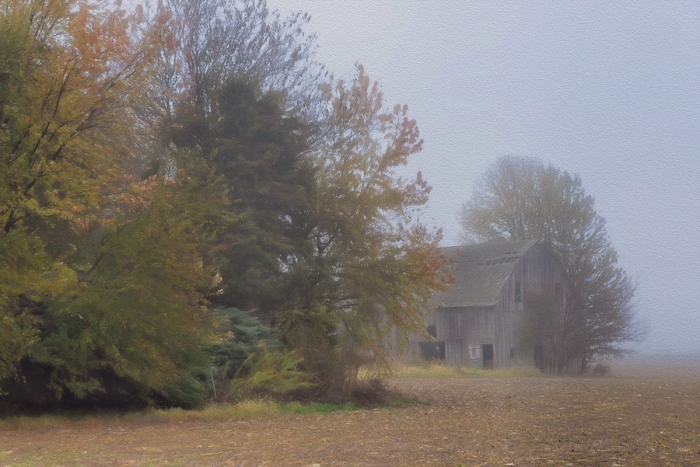 Autumn at a Prairie Farm