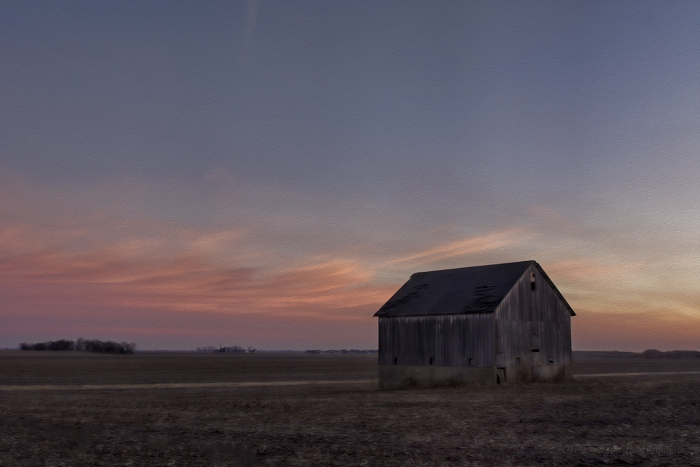 Before Dawn in Rural America