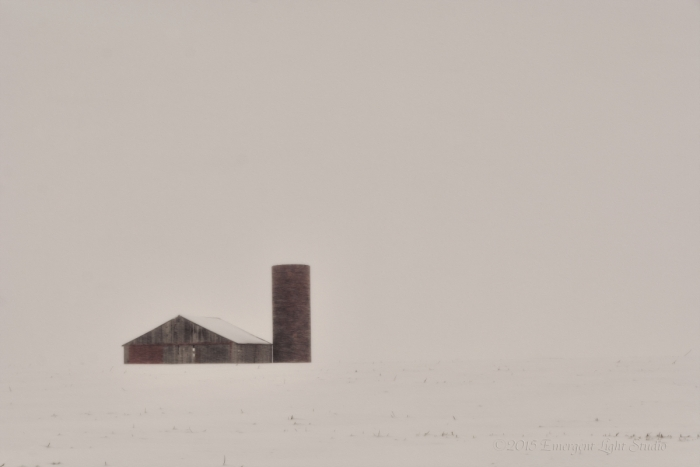 Winter Storm in Rural America