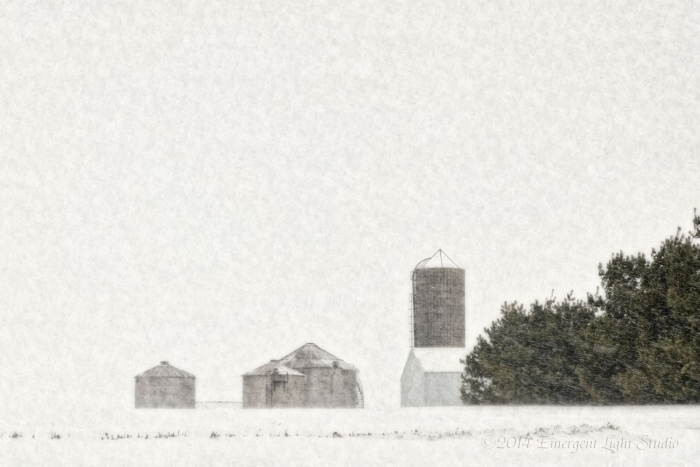 Late Winter Prairie Snowstorm