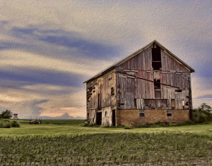 Old Barn on the American Prairie