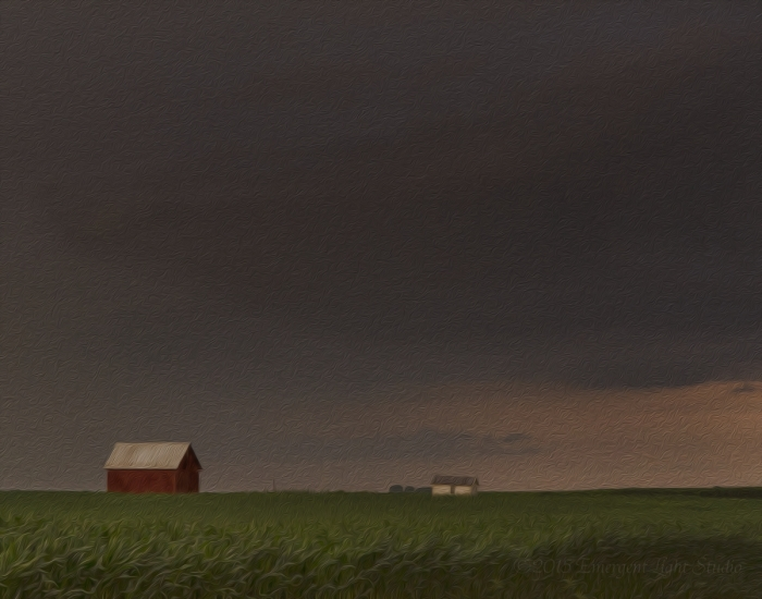 Passing Storm on a Prairie Afternoon