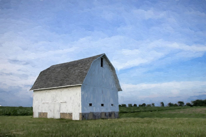 Prairie Barn in Early June