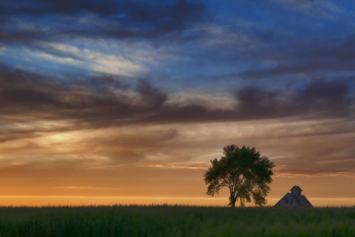 Art of a Prairie Sunset