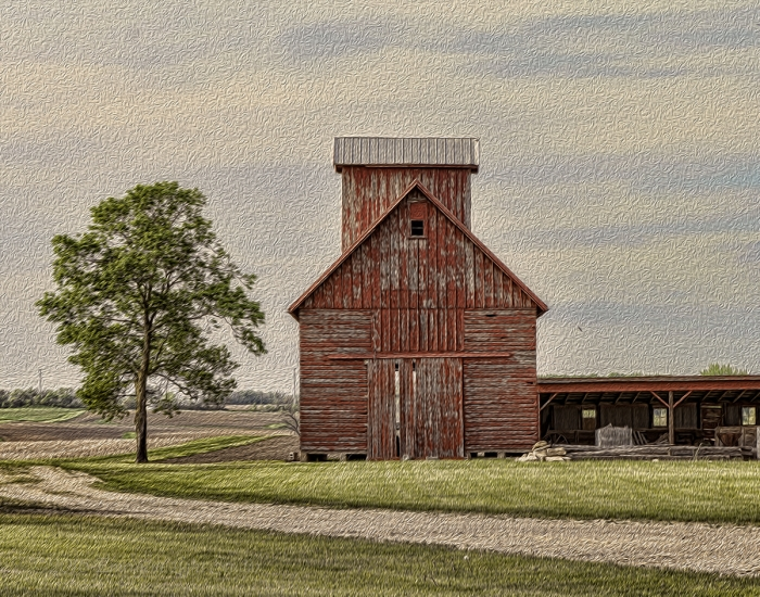Prairie Corn Crib