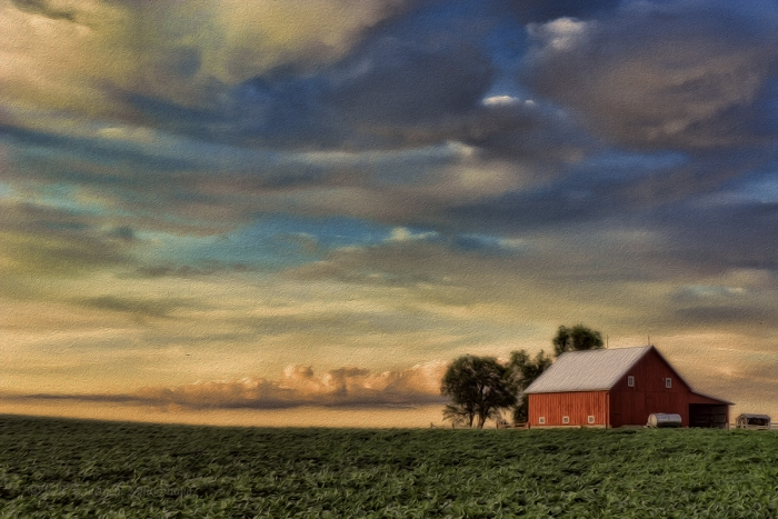 The Earth and Sky of a Prairie Afternoon