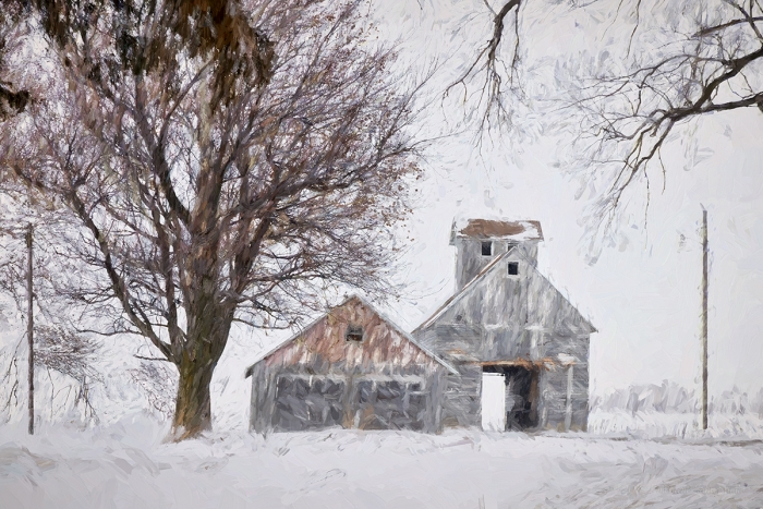 Rural Winter Place
