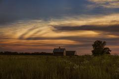 Summer Prairie Sunset