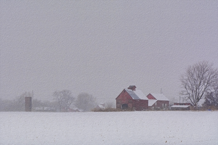 Winter Storm on the Prairie